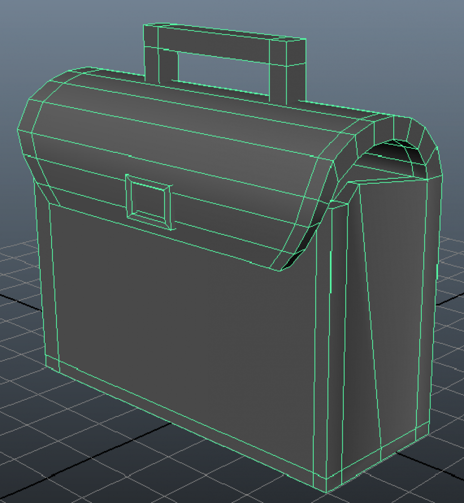 Tutorial modeling a bag in Maya