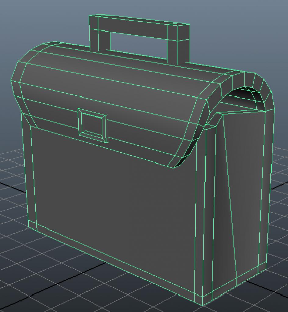 Tutorial modeling a bag in Maya
