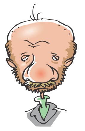 Karikaturtegning af Rene Birkholm alias rebi Danmark Odense Fyn tegneren.dk